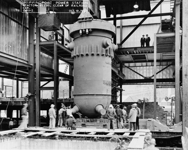 Shipping Reactor in Pennsylvania