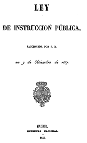 PLAN GENERAL DE INSTRUCCIÓN PÚBLICA