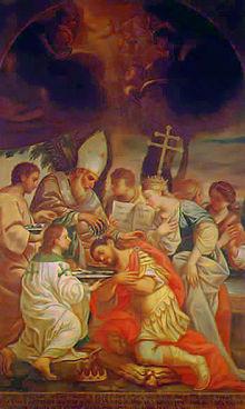 Conversión del Rey de Armenia