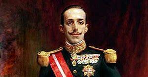 El rei Alfons XIII