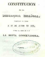 La Constitución de 1837