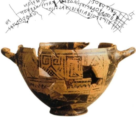 Nestor's kop ca. 730-710