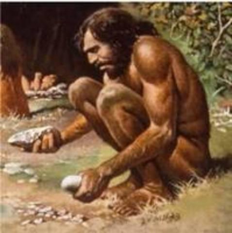 Cro-Magnons appear, 40,000 B.C.