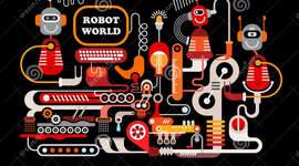 Frise histoire de la robotique (Khadija Chelli)  timeline