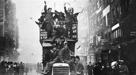Finalitza la Primera Guerra Mundial