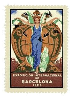 Inaguració de l'Expocició Internacional a Barcelona