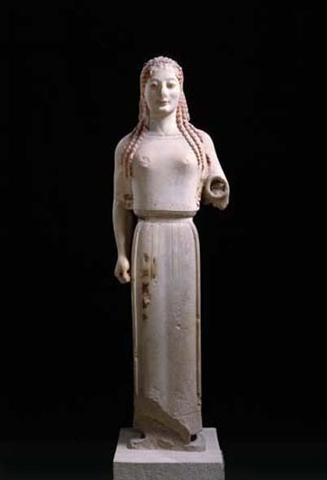 Peplos Kore 540-530