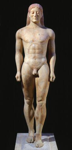 Anavysos Kouros 540-520