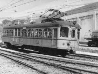 1ª liña de ferrocarril en España