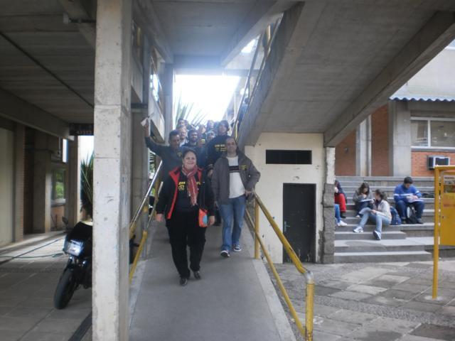 Mobilização na Agronomia e Campus do Vale
