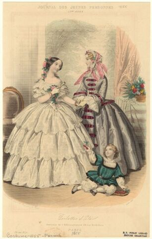 Godey's Lady's Book (1855 and 1859)