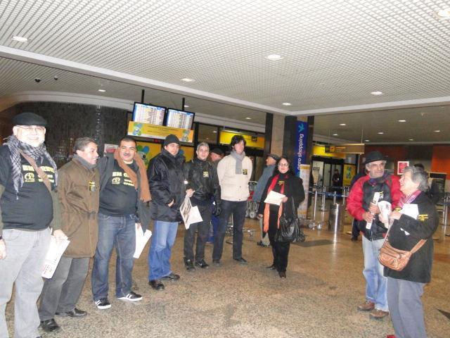 Entrega de carta aos parlamentares gaúchos