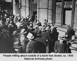 Banks began to fail