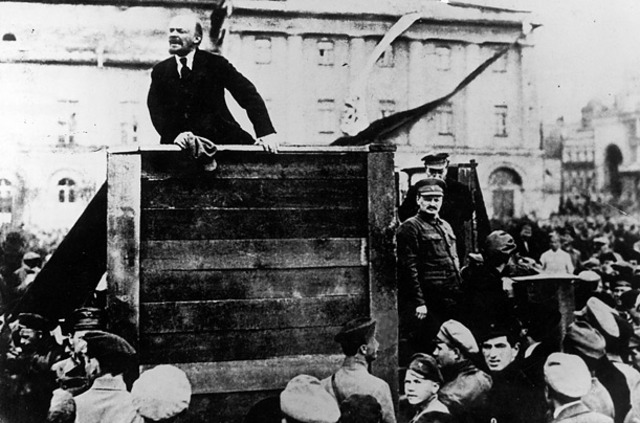 The Bolsheviks successfully overthrow the Russian government.