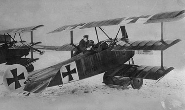 Baron Manfred von Richthofen shot down