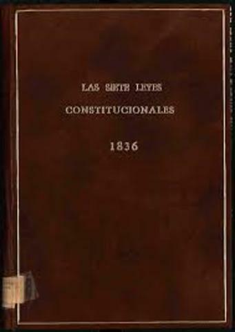 Las Siete Leyes Constitucionales.