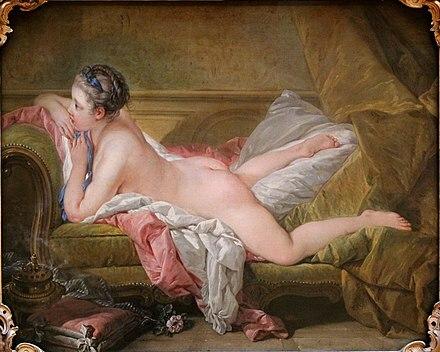 """Mademoiselle Louise O'Murphy"" de BOUCHER"