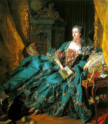 """""""Madame de Pompadour"""" de BOUCHER"""