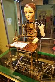 Automate dessinateur-ecrivain de Maillardet Robot