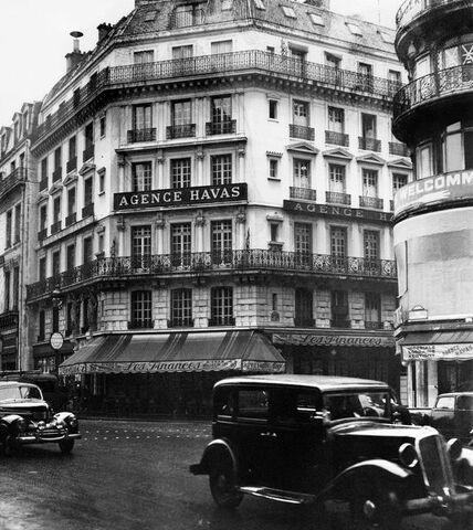 Гавас, французское информационное агентство.