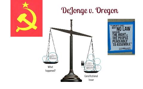 DeJogne v. Oregon