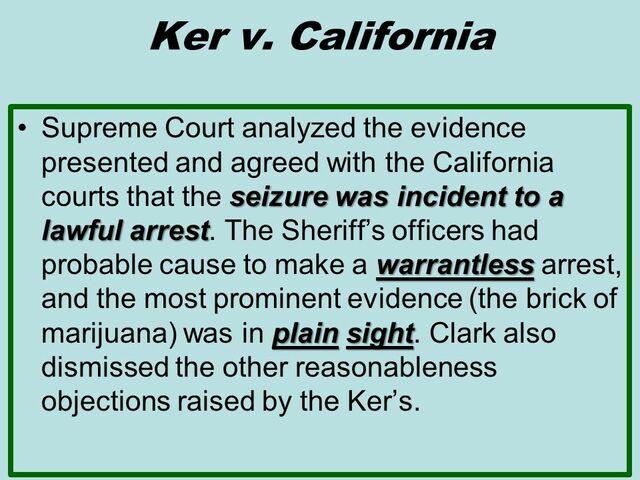 Ker v. California