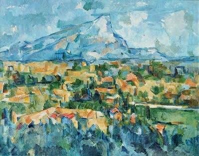 """""""Montaña Saint-Victorie"""" de CEZANNE"""