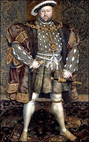 Henry V111 dies -Mandrill