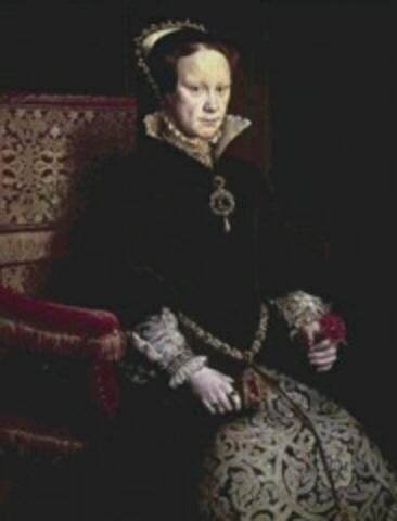 Mary I 'Bloody Mary ' Leaftoad