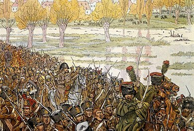 Battaglia a Lipsia e l'esilio di Napoleone ad Elba