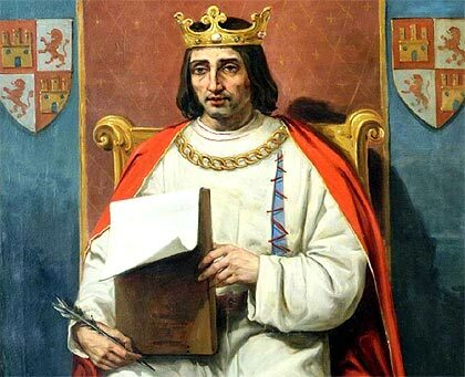 España: Rey Alfonso X