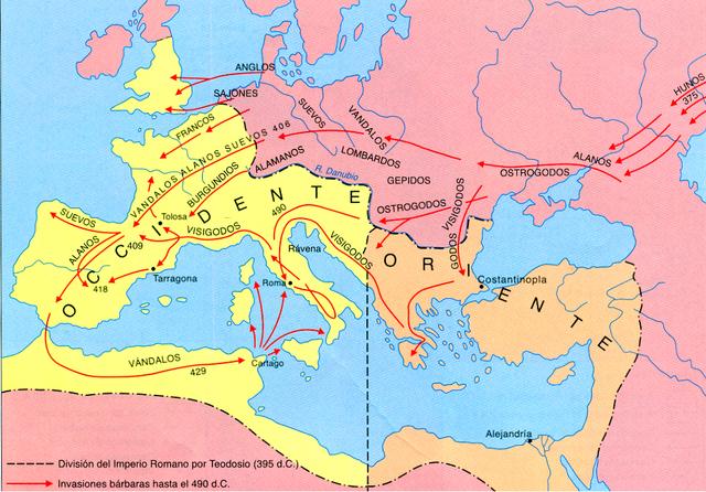 Caiguda de l'Impri romà d'Occident (principi)
