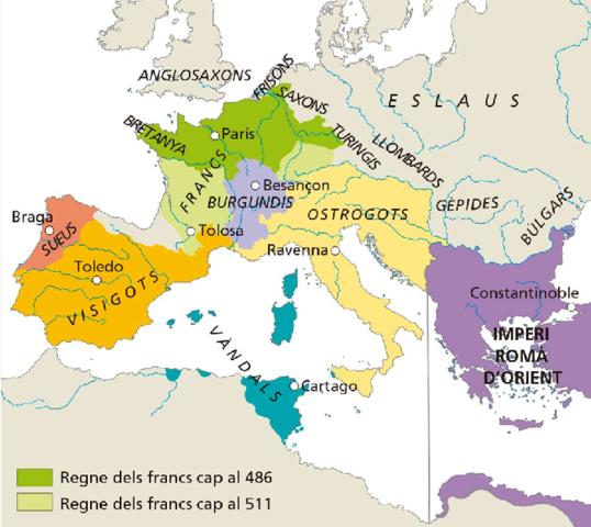 1.2. Les monarquies germàniques