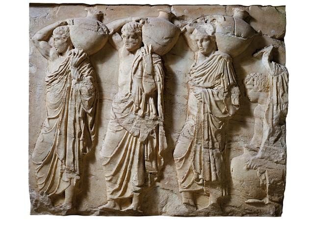 Criação das Grandes Panateneias em Atenas