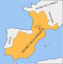 Barcelona capital del regne visigot