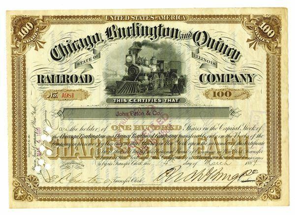 Chicago, Burlington & Quincy Railroad Company v. City of Chicago
