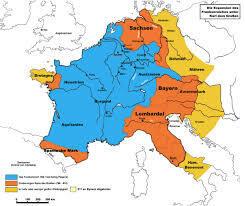 Divisió de l'Imperi Carolingi