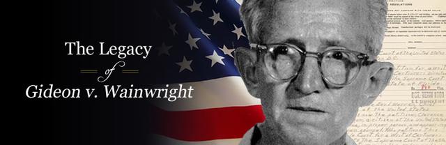 Gideon v. Wainright
