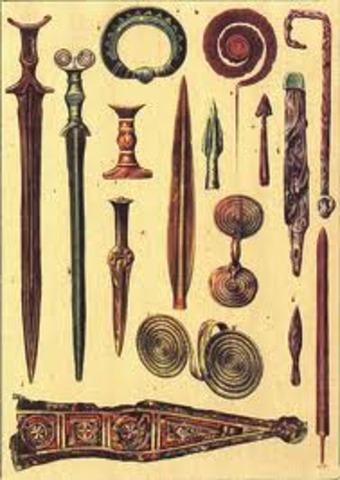 The Bronze Age, 3000 B.C.