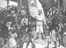 Grito de Yara (inicio de la primera guerra de independencia de Cuba). (Octubre)