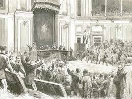 Proclamación de la Primera República. (febrero)