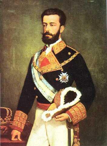 Proclamación de las Cortes del rey Amadeo I de Saboya.