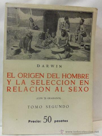 Publicó La descendencia humana y la selección sexual