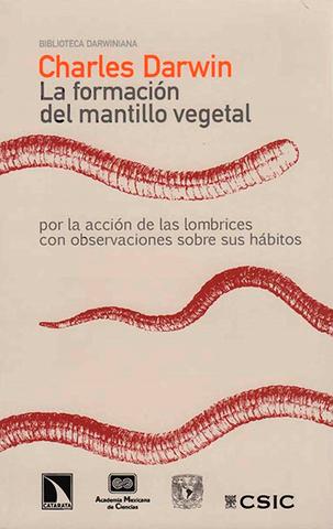 Publica Sobre la influencia de las lombrices en la formación de la tierra vegetal.