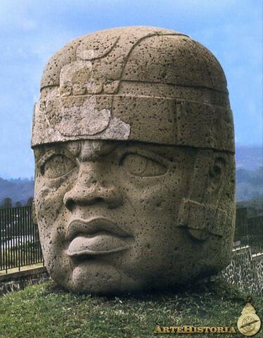 Surgimiento de la cultura Olmeca