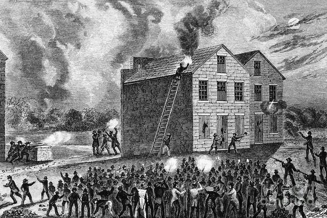 Abolitionist editor Elijah P. Lovejoy is murdered.