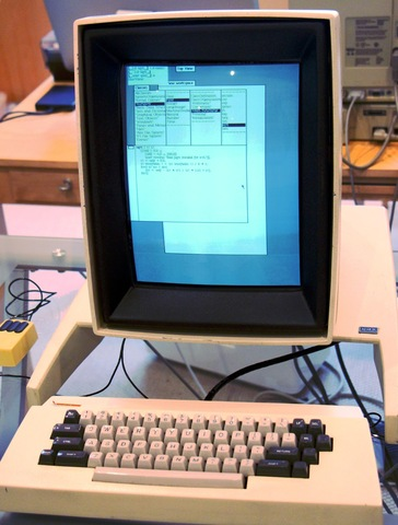 El primer sistema con GUI