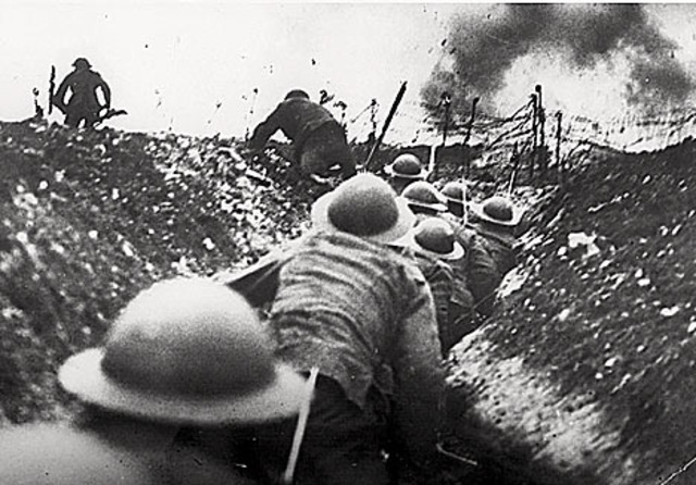 The Germans withdraw to the Hindenburg Line