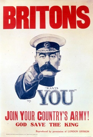 Conscription introduced by UK