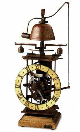 Primer reloj mecánico verdadero.